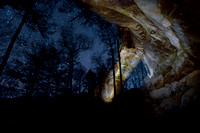 Gray's Arch and Stars, Red River Gorge, KY